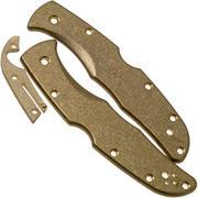 Flytanium Spyderco Endura Scales, laiton