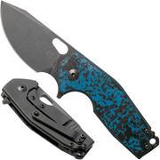 Fox Suru FX-526LECF Arctic Storm Carbon Fibre, Limited Edition couteau de poche, Jesper Voxnaes design