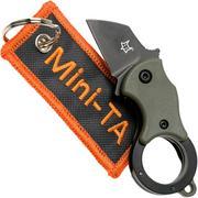 Fox Mini-TA FX-536ODB OD Green & Black, keychain knife