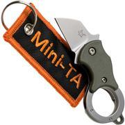 Fox Mini-TA FX-536OD OD Green, Schlüsselbundmesser