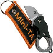 Fox Mini-TA FX-536 Black, couteau de poche porte-clés