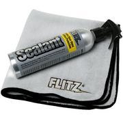 Flitz Sealant spray ceramico idrorepellente e panno in microfibra, 236 ml