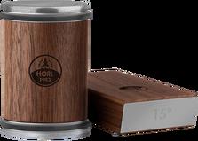 HORL 2 afilador de cuchillos madera de nogal, HO2N-SET