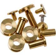 """Rick Hinderer Complete Brass Hardware Set, XM18 3"""""""