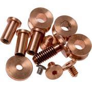 """Rick Hinderer Complete Copper Hardware Set, XM18 3"""""""