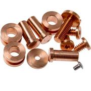 """Rick Hinderer Complete Copper Hardware Set, XM24 4"""""""