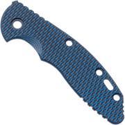 """Rick Hinderer XM-18 3,5"""" greepschaal, Blue Black G10"""