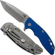 """Rick Hinderer XM-18 3.5"""" Spanto 20CV, blue G10 couteau de poche"""