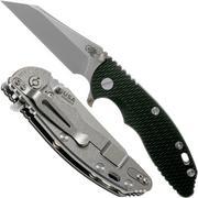 """Rick Hinderer XM-18 3.5"""" Wharncliffe Fatty 20CV, black G10 Taschenmesser"""