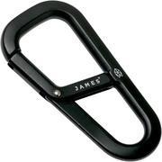 The James Brand The Hardin Black ES204910-10 moschettone