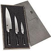 Kai Shun Classic ensemble de couteaux trois pièces KADMS-300