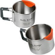 Kelly Kettle Cups 350 en 500 ml stainless 50040