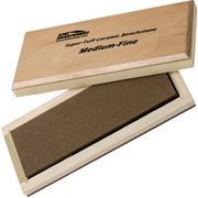 """KME """"Super-Tuff"""" ceramic sharpening stone, medium-fine"""