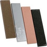 KME 4-delige slijpsteenset keramisch/natuursteen, KF-414