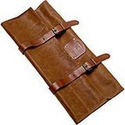 Knivesandtools bolsa de cuchillos de cuero Utah Rust 45x47