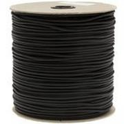 550 Paracord type III, color: Black, 1000 ft (304.8 m)