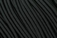 Knivesandtools 550 paracord type III, colour: black, 100 ft (30.48 m)