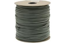 550 paracord type III, color: Foliage Green, 1000 ft (304,8 m)