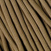 550 Paracord type III, couleur : Coyote Brown, 100ft (30,48 m)