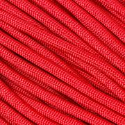 Knivesandtools 550 paracord type III, colour: imperial red, 100 ft (30.48 m)