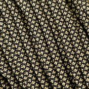 Knivesandtools 550 paracord type III, couleur : gold diamonds, 100 ft (30,48 m)