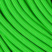 Knivesandtools 550 paracord type III, kleur: neon green, 100 ft (30,48 m)