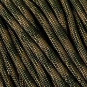 Knivesandtools 550 paracord type III, couleur : coyote & olive drab, 50 ft (15,24 m)