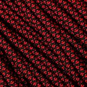Knivesandtools 550 paracord type III, couleur : imperial red diamond, 50 ft (15,24 m)