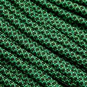 Knivesandtools 550 paracord type III, kleur: mint with olive drab diamonds - 50 ft (15,24 meter)