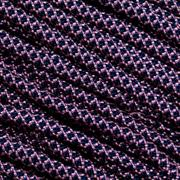 Knivesandtools 550 paracord type III, color: rose pink with midnight blue diamonds - 50 ft (15,24 m)