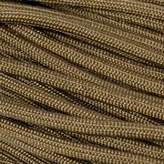 Knivesandtools 550 Paracord Type III Military Spec RG1168H, coyote, 100 ft (30,48 m)