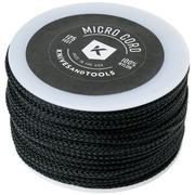 Knivesandtools Micro Cord, colour: Black, 125 ft (38.1 m)