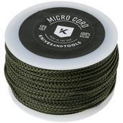 Knivesandtools Micro Cord, colour: Olive, 125 ft (38.1 m)