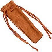 Forge de Laguiole knife pouch soft leather, naturel