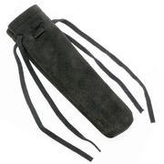 Forge de Laguiole knife pouch soft leather, black