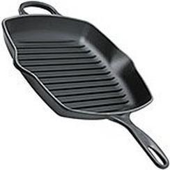 Le Creuset grill pan/skillet 26cm square, black