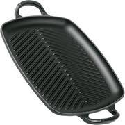 Le Creuset La Fonte émaillée grillpan 30 cm, zwart