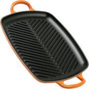 Le Creuset La Fonte émaillée grillpan 30 cm, oranje