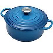 Le Creuset braadpan - cocotte 20cm, 2,4L blauw