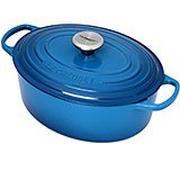 Le Creuset Bräter/Cocotte  oval 29 cm, 4,7 l blau
