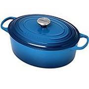Cocotte ovale Le Creuset 31 cm, 6,3 L bleu