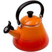 Le Creuset Kone hervidor de agua 1,6L, naranja-rojo