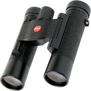 Leica ULTRAVID 10x25 binoculars, black, leather cover
