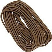 Live Fire Firecord 550 paracord 25ft, Coyote Brown