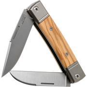 LionSteel BestMan BM13 UL Olive slipjoint pocket knife