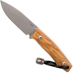 LionSteel M1-UL Olivenholz, feststehendes Messer