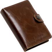 Ledlenser Lite Wallet, Vintage Brown, wallet with LED flashlight, 150 lumens