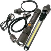 Ledlenser Worker's Friend rechargeable work light with 4 attachments, 280 lumens