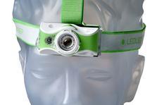 Ledlenser MH7 torcia frontale ricaricabile, verde