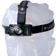 Ledlenser MH8 lampe frontale rechargeable, noir